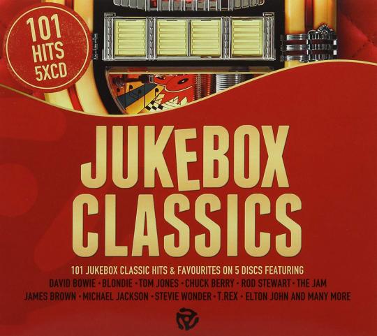 101 Jukebox Hits. 5 CDs.