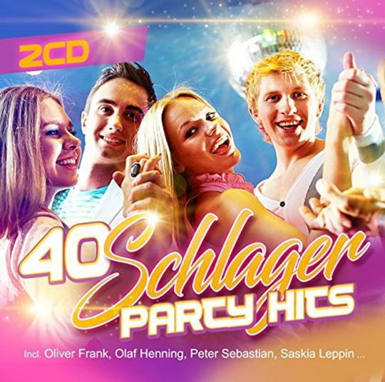 40 Schlager Party Hits 2 CDs. | Jetzt im Merkheft Shop