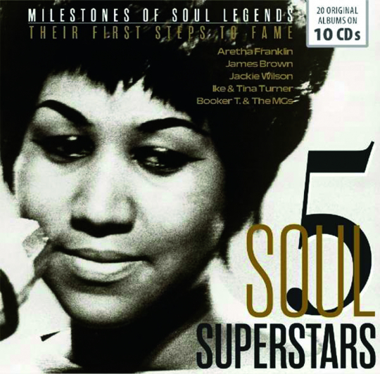 5 Soul Stars. Their First Steps to Fame. 20 Original Albums. 10 CDs.