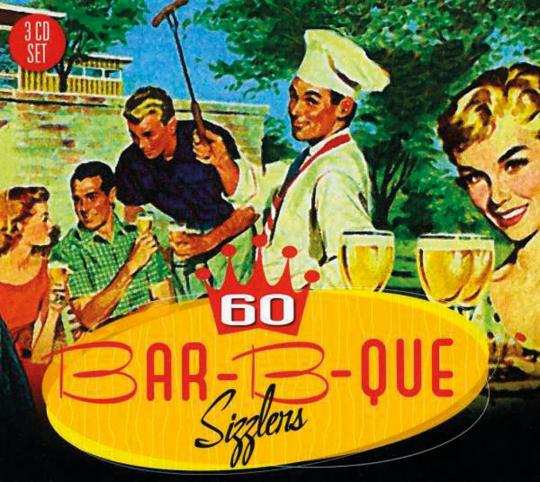 60 Bar-B-Que Sizzlers. 3 CDs.