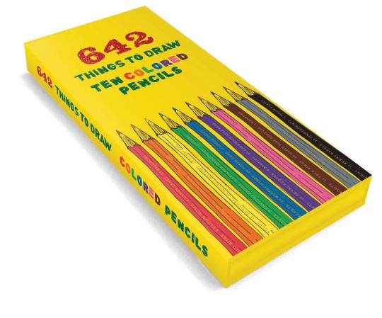 642 Things to Draw. 10 Buntstifte.