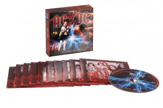 AC/DC. High Voltage Rock'n'Roll 1974-1988. 10 CDs.