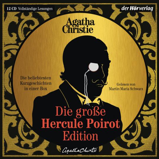 Agatha Christie. Die große Hercule-Poirot-Edition. Die beliebtesten Kurzkrimis in einer Box. 12 CDs.