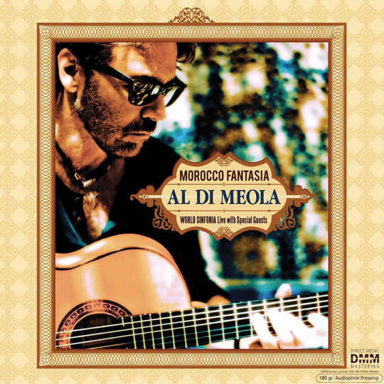 Al Di Meola. Morocco Fantasia. Live 2009. CD.
