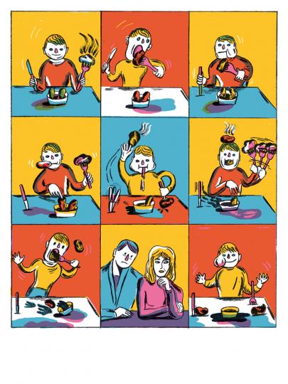 Albert Camus. Jonas oder der Künstler bei der Arbeit. Graphic Novel. Vorzugsausgabe mit Original-Siebdruck »Das liebe Kind«.