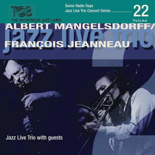 Albert Mangelsdorff & Francois Jeanneau. Jazz Live Trio With Guests. CD.
