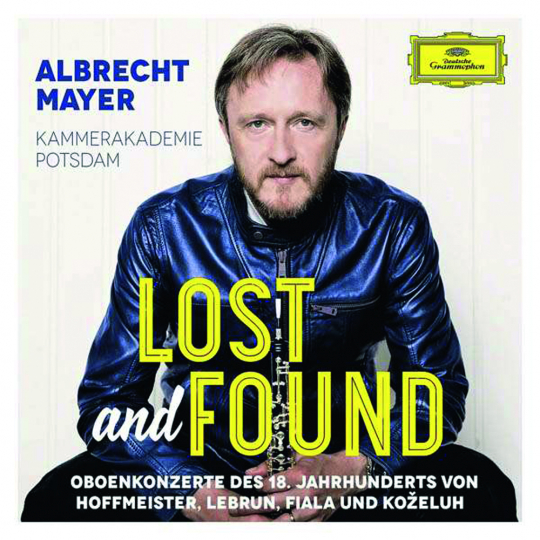 Albrecht Mayer. Lost and Found. CD.