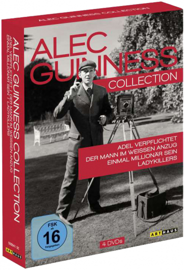 Alec Guinness Collection. 4 DVDs