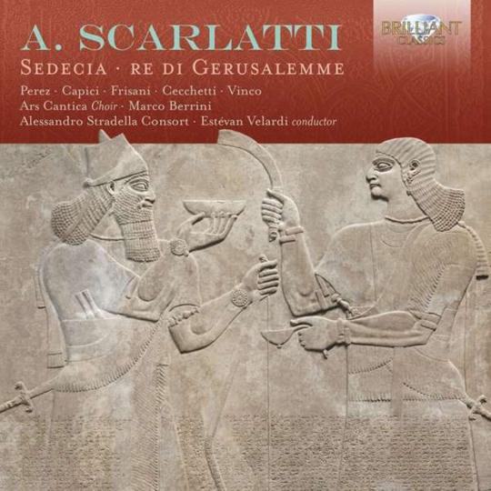 Alessandro Scarlatti. Sedecia, Re di Gerusalemme. 2 CDs.