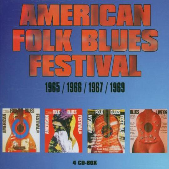 American Folk Blues Festival 1965, 1966, 1967, 1969. 4 CDs.