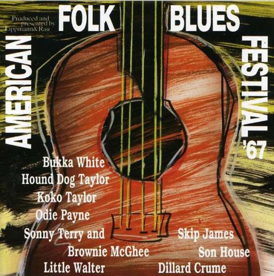 American Folk Blues Festival 1967. CD.