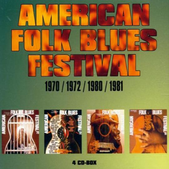 American Folk Blues Festival 1970, 1972, 1980, 1981. 4 CDs.
