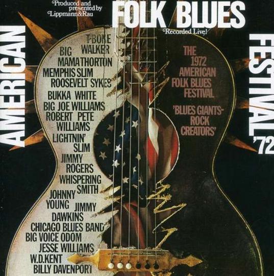 American Folk Blues Festival 1972. CD.