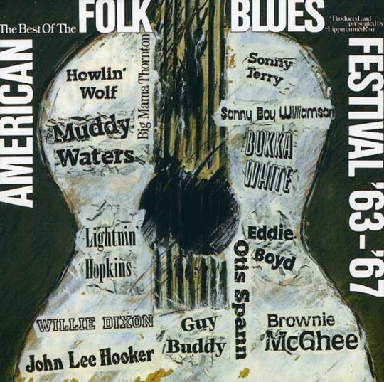American Folk Blues Festival. Best of 1963-1967. CD.
