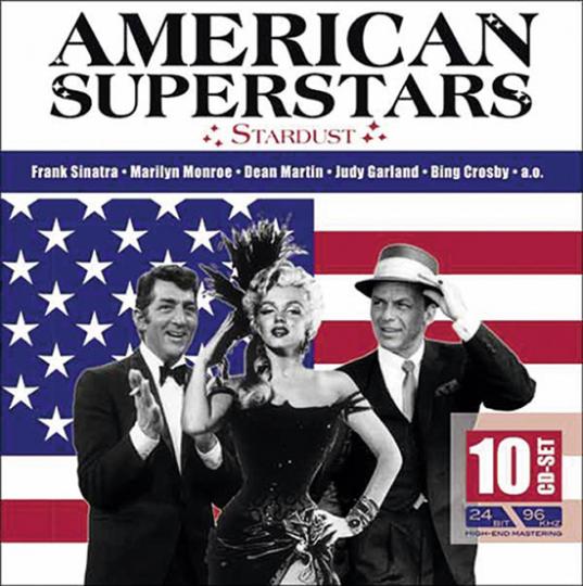 American Superstars. 10 CD Set.