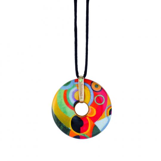 Amulett Robert Delaunay »Lebensfreude«.