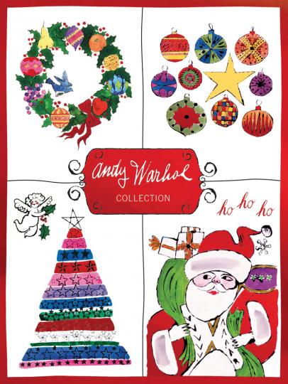 Andy Warhol Weihnachtskarten.