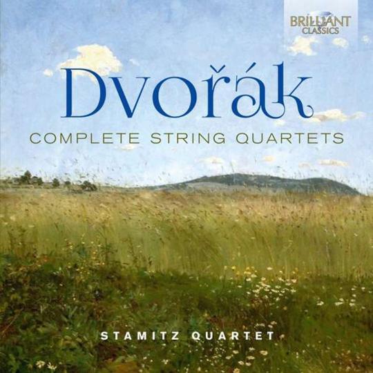 Antonin Dvorak. Streichquartette Nr.1-14. 10 CDs.