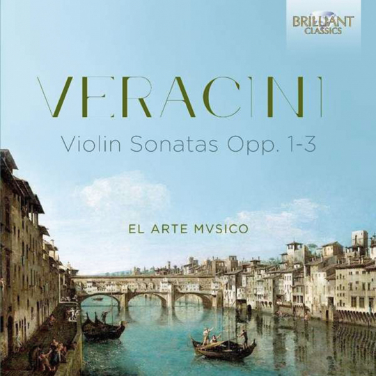Antonio Veracini. Violinsonaten. CD.