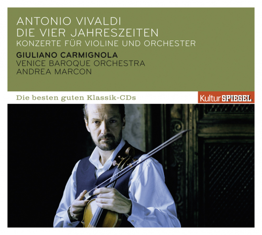 Antonio Vivaldi. Concerti op.8 Nr.1-4. 4 Jahreszeiten. CD.