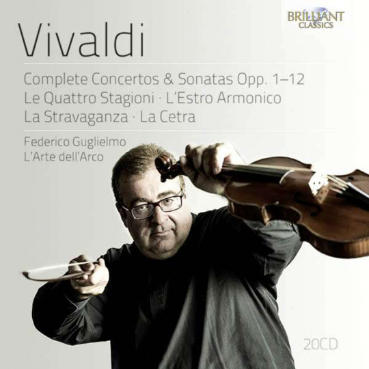 Antonio Vivaldi. Concerti & Sonaten op.1-12. 20 CDs.