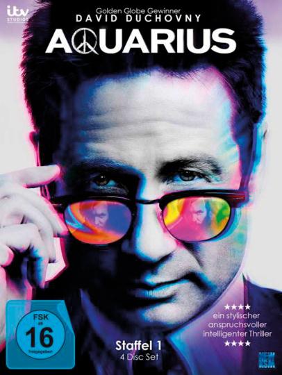 Aquarius. Staffel 1. 4 DVDs.
