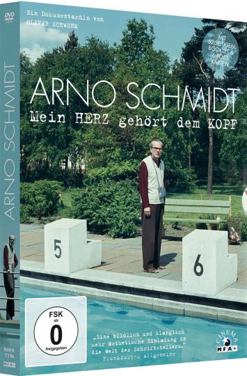 Arno Schmidt - Mein Herz gehört dem Kopf. DVD