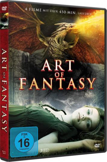 Art of Fantasy. 3 DVDs