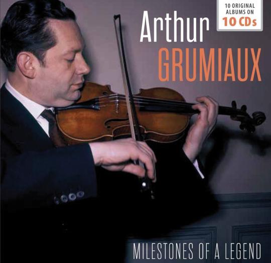 Arthur Grumiaux. Milestones of a Legend. 10 CDs.
