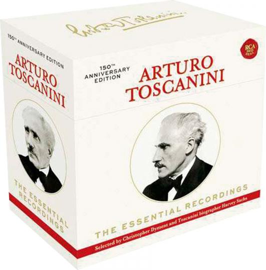 Arturo Toscanini. The Essential Recordings. 20 CDs.