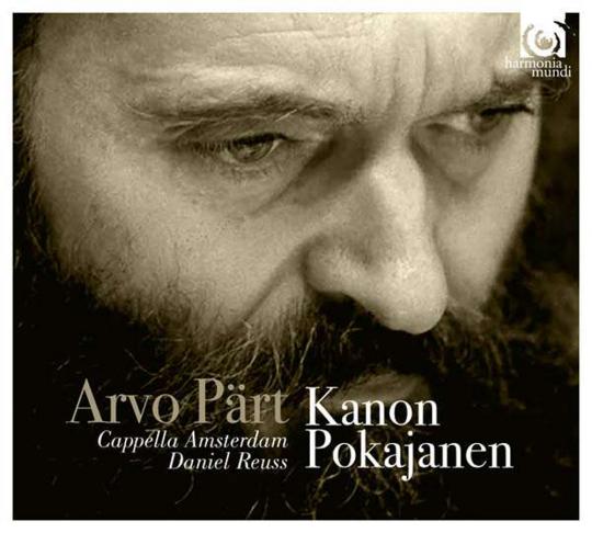 Arvo Pärt. Kanon Pokajanen. CD.