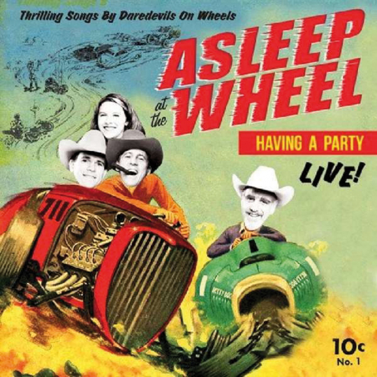 Asleep At The Wheel . Havin A Party Live. LP.
