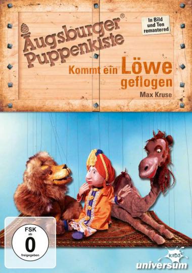 Augsburger Puppenkiste. Kommt ein Löwe geflogen. DVD.
