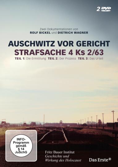 Auschwitz vor Gericht. Strafsache 4 Ks 2/63. Zwei Dokumentationen. 2 DVDs.