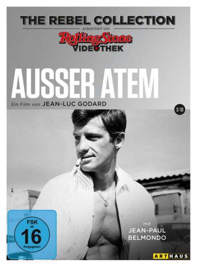 Ausser Atem (The Rebel Collection). DVD.