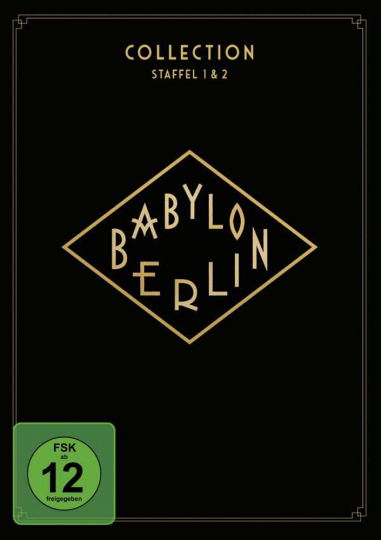 Babylon Berlin Collection. Staffel 1 & 2. 4 DVDs.