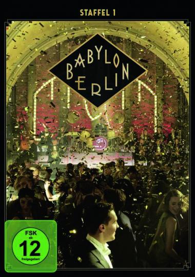 Babylon Berlin. Staffel 1. 2 DVDs.