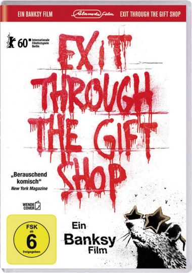Banksy. Exit Through The Gift Shop. DVD.