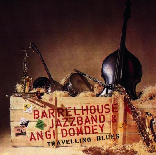 Barrelhouse Jazzband. Travellin' Blues. CD.