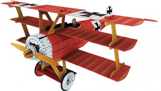Bau dir ein Flugzeug. Die Geschichte der Luftfahrt.