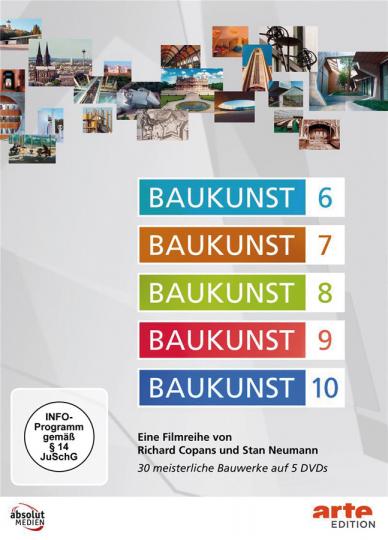 Baukunst 6-10. 5 DVDs.
