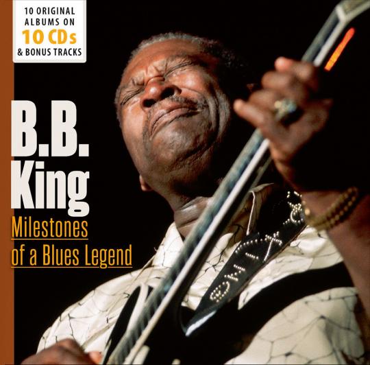 B. B. King. Milestones of a Blues Legend. 10 CDs.