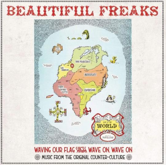 Beautiful Freaks. Waving Our Flag High. CD.