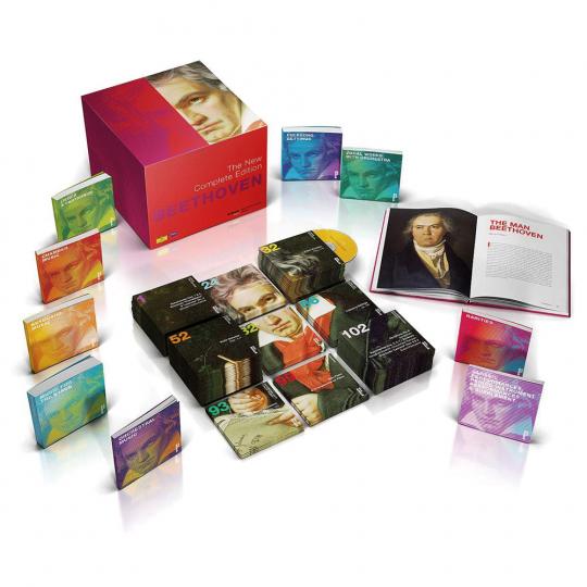 Beethoven. Die neue Gesamtedition. 118 CDs, 3 Blu-ray Audio, 2 DVDs.