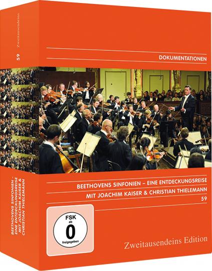 Beethovens Sinfonien. Eine Entdeckungsreise mit Joachim Kaiser und Christian Thielemann. 9 DVDs.