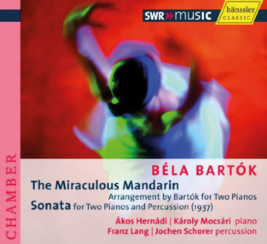 Bela Bartok. Der wunderbare Mandarin / Sonate. CD.