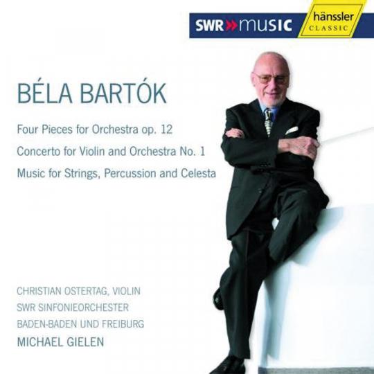 Béla Bartók. Orchesterstücke / Violinkonzert Nr. 1. CD.
