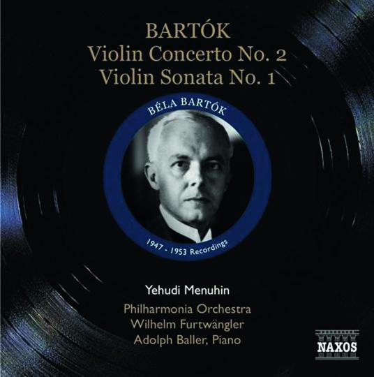 Bela Bartok. Violinkonzert Nr. 2. CD.