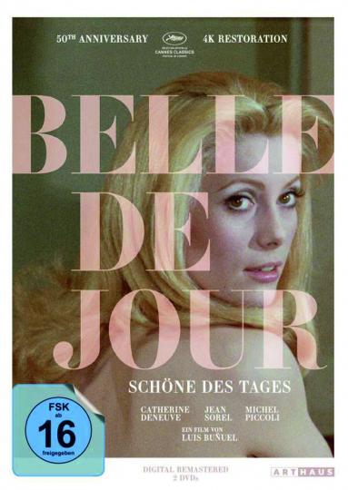 Belle de Jour (50th Anniversary Edition). 2 DVDs.