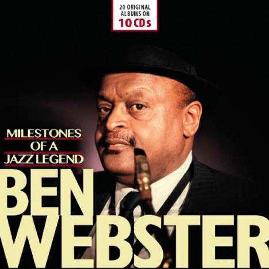 Ben Webster. Milestones of a Jazzlegend. 10 CDs.